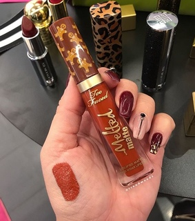 gingerbread spice, matte and too faced makeup