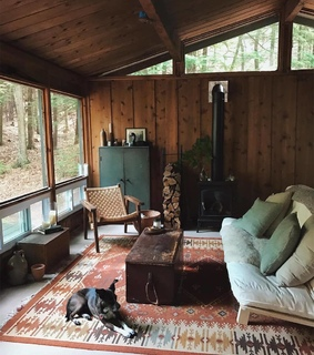 cabin, house and home