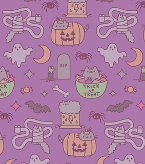 halloween wallpaper, halloween pusheen and halloween