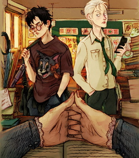 professor mcgonagall, drarry and non magical au