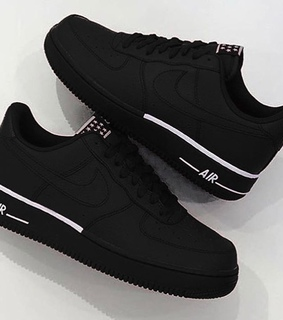nike, black and sneakers