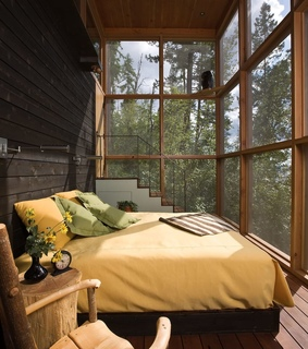 retreat in the wilderness, flathead county and bigfork