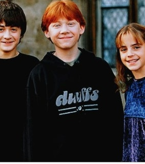 bi, harry potter and ron