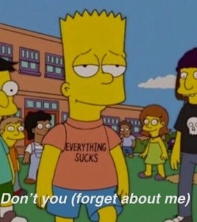 dont you forget about me, simple minds and the simpsons