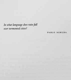 pablo, thinking out loud and pablo neruda