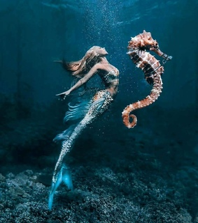 mermaids, fantasy and beautiful