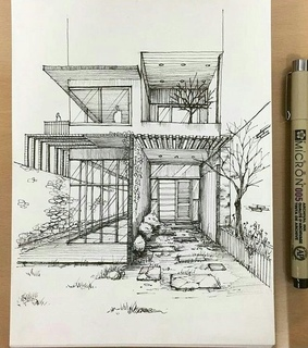 art, architect sketch and drawing