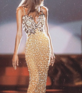 evening gown, style and runway