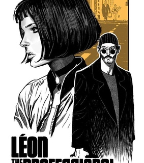 yellow, movie poster and leon the professional