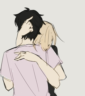 anime, asheiji and cute
