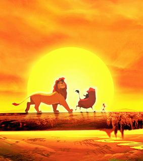 disney classic, the lion king and sun