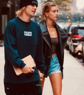 hailey baldwin, belieber and shop