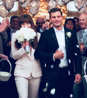couples, wedding and 50 shades of freed