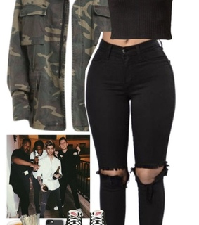 military and black