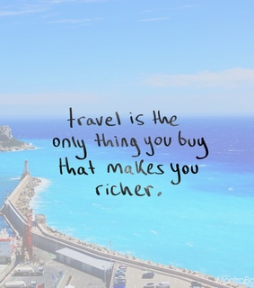 adventure, buy and see the world