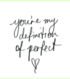love quote, for him and perfection