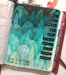 bible journaling, faith and bible study