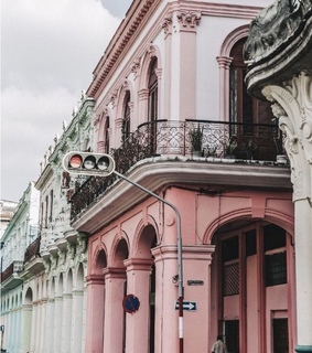 cute, pink and architecture