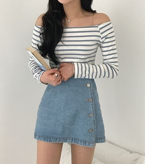 striped, book and jeans
