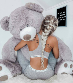 suprise, want it and teddy bear