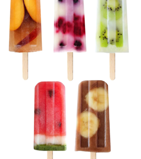 ice cream, popsicle and overlay