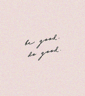 good, be good and studying motivation