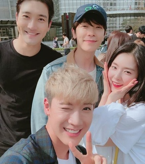 supet junior, donghae and siwon