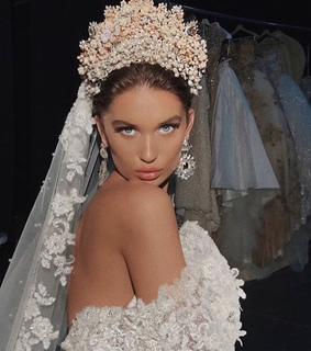 fashion, wedding gown and cute