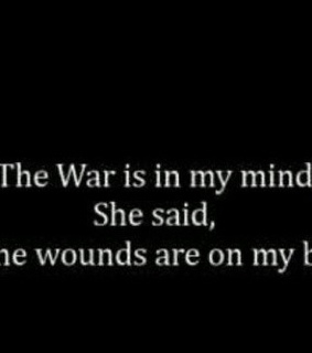 wounds, depression and self harm