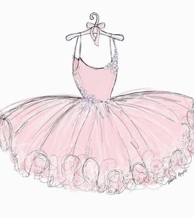 ballet, shabby and girly