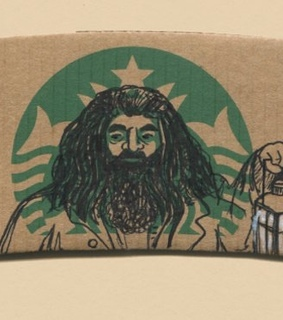 harry, hagrid and potter