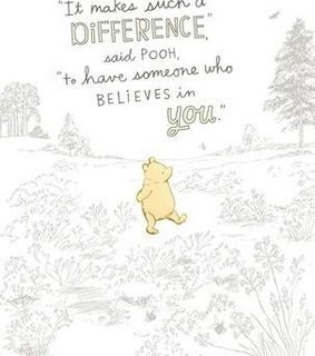 you are strong, love and it makes a difference