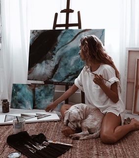 life, picasso and paint