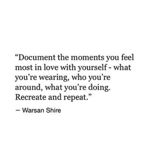 repeat, doing and wearing