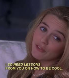 as if and clueless
