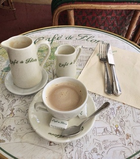 cafe, french and parisian