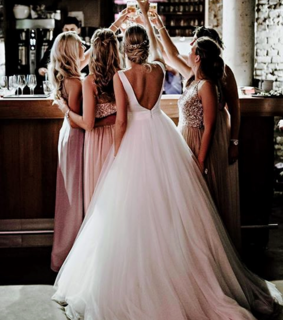 dresses, bridesmaid and girls
