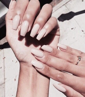 rose gold, nails aesthetic and rosegold aesthetic