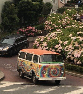 hippies, cars and street