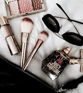 makeup, fashion and juicy couture