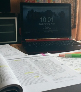 books, study inspiration and notes