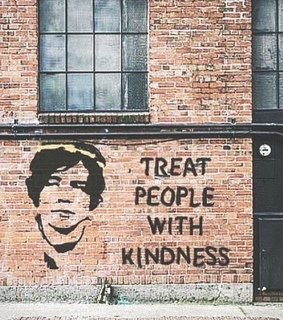 treat people with kidness, kidness and one direction