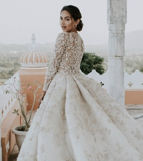 dress, wedding and style