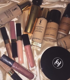 luxury makeup, chanel powder and luxury