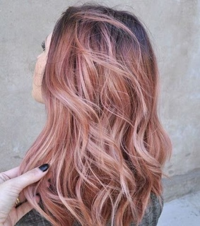 pink, hair style and hair