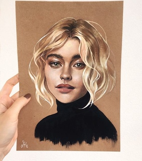girl painting, drawing and so beautiful