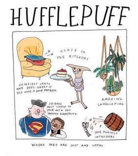 hufflepuff, drawing and common room
