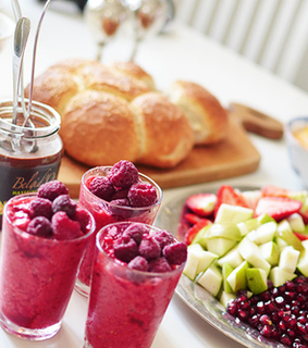 french breakfast, cocktail party and foodie