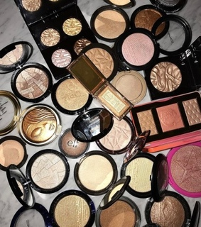 makeup, collection and luxury
