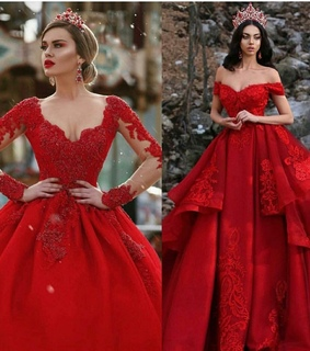 queen, dress and red dress